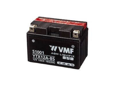 VMF Powersport MF YTX12A BS