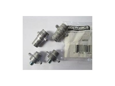 Side/stud terminal charge/test adapter set